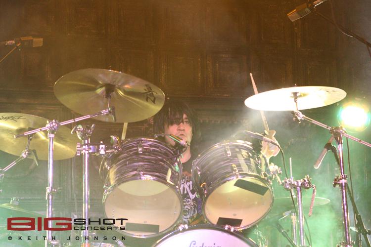Drummer Ed Graham