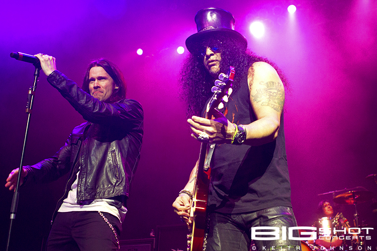 Myles Kennedy and Slash