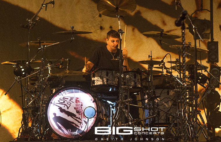 Korn drummer Ray Luzier at Fillmore Miami