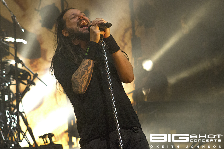 Korn frontman Jonathan Davis at Fillmore Miami