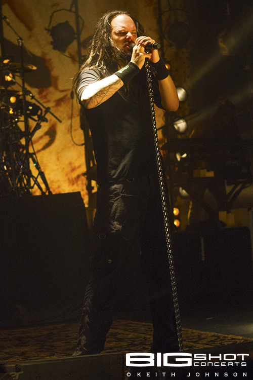 Vocalist Johnathan Davis of Korn