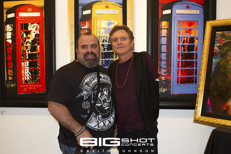 Myron Luzniak with Rick Allen