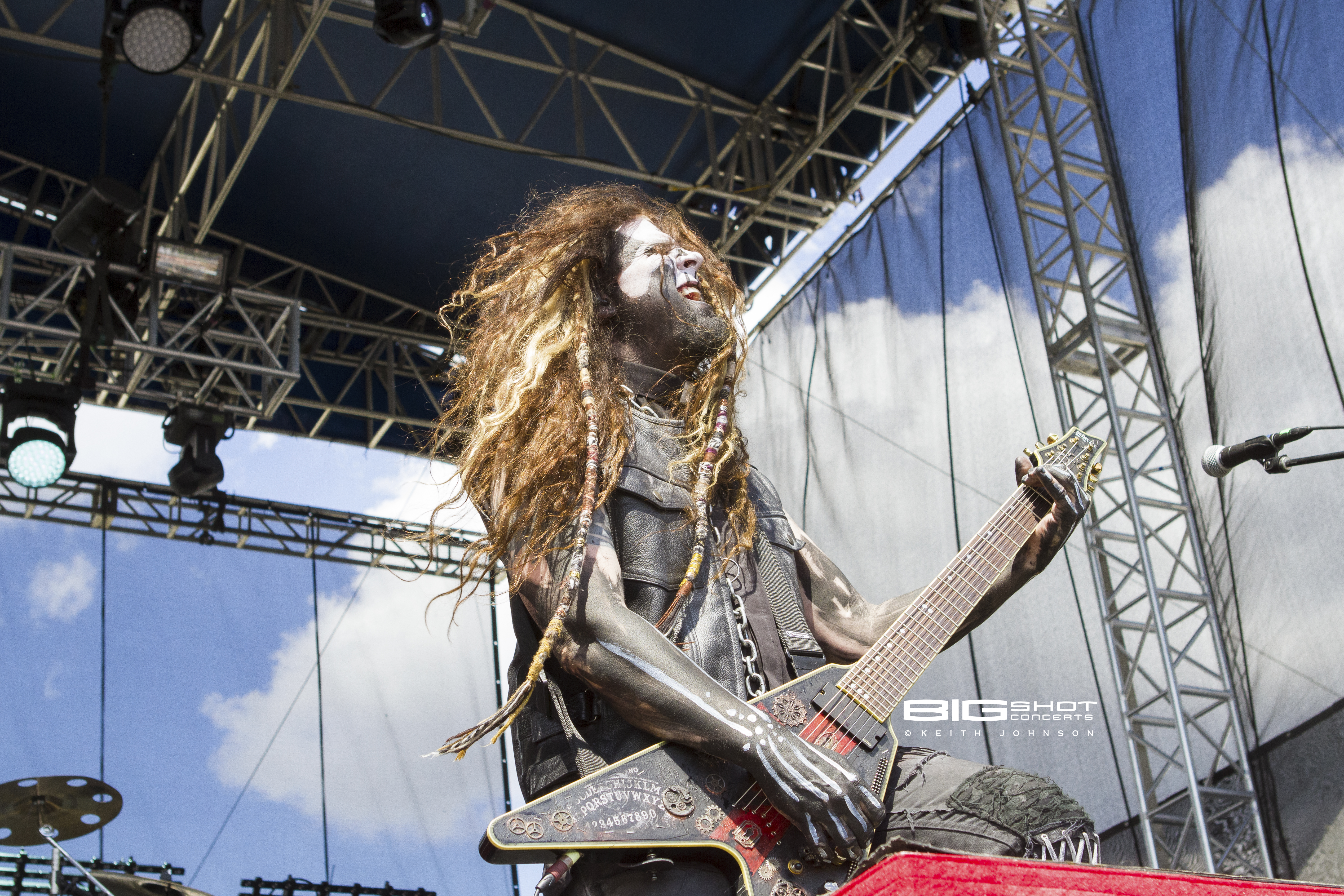 In This Moment guitar player Randy Weitzel