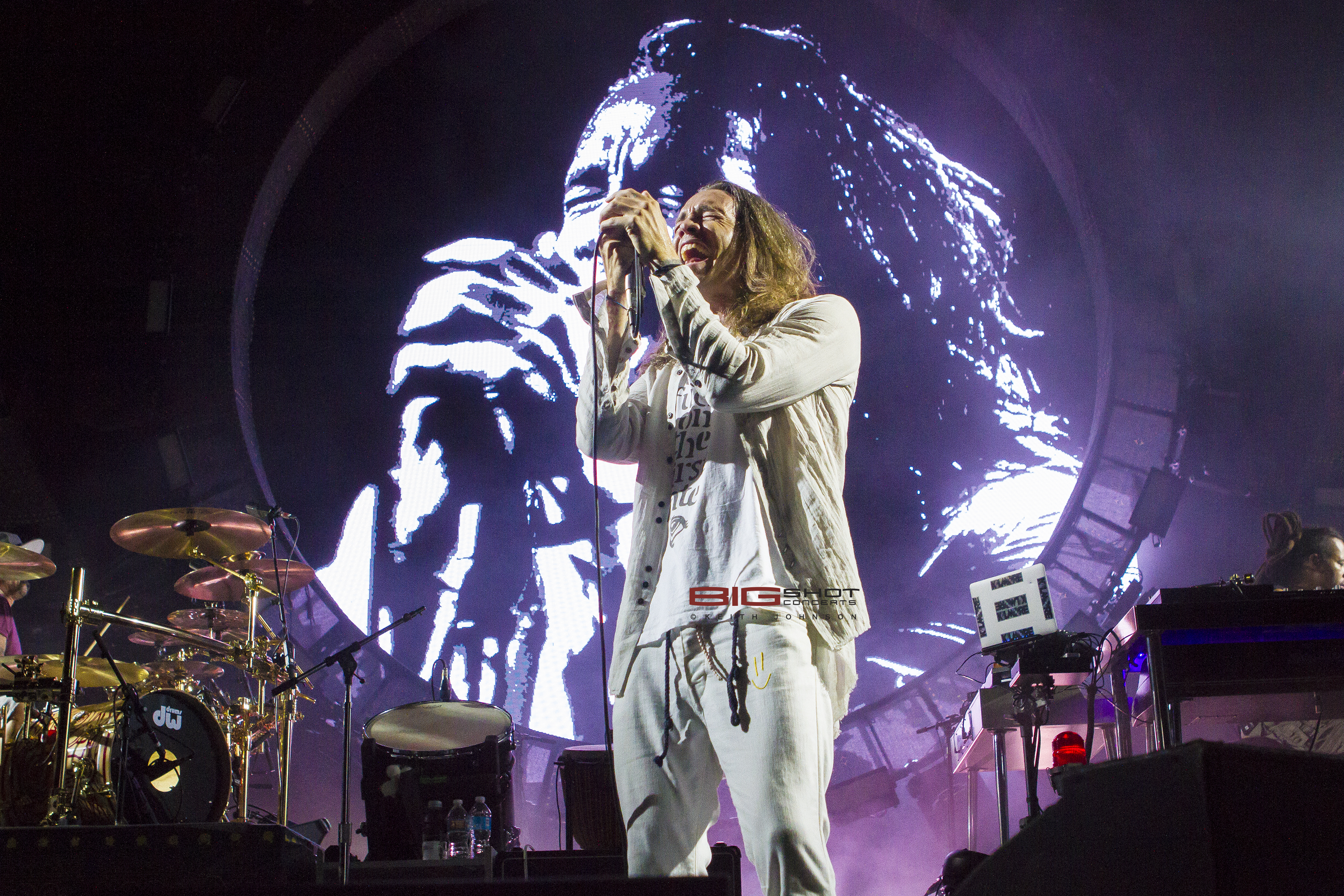 Vocalist Brandon Boyd of Incubus