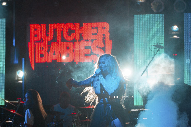 Vocalist Heidi Shepherd of Butcher Babies