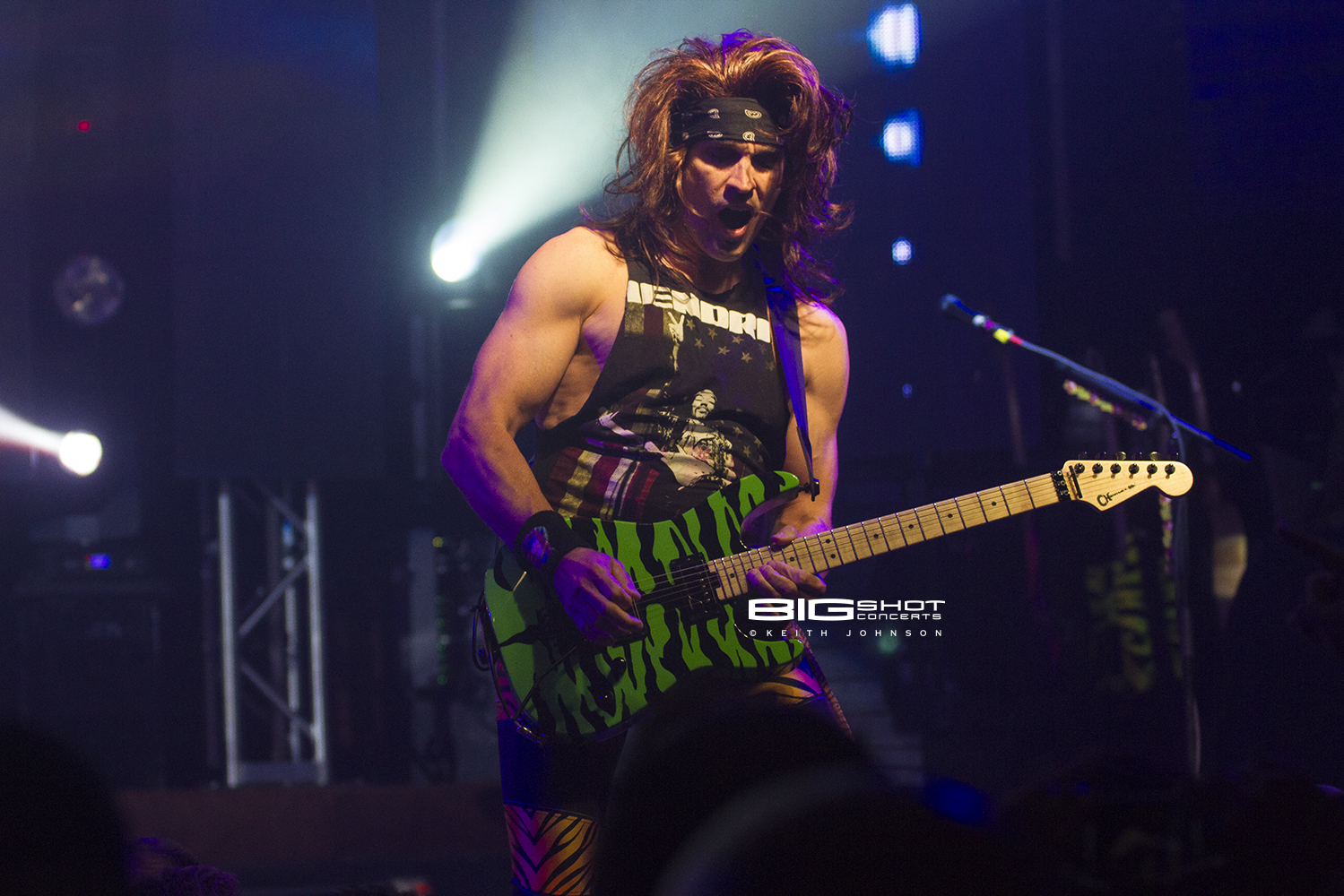 Satchel makes his six string scream in Fort Lauderdale
