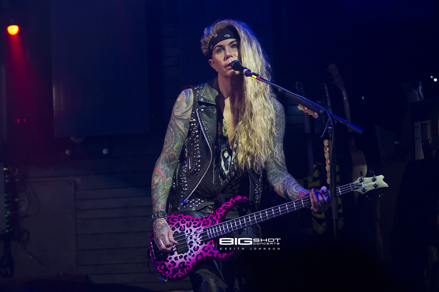 Lexxi Foxx of Steel Panther