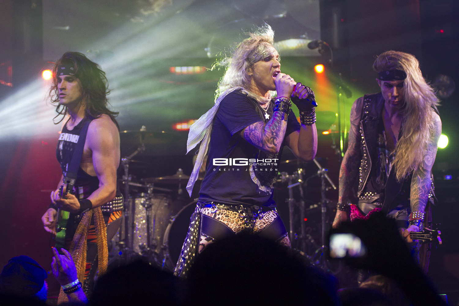 Steel Panther 2017 Girls in a Row Tour