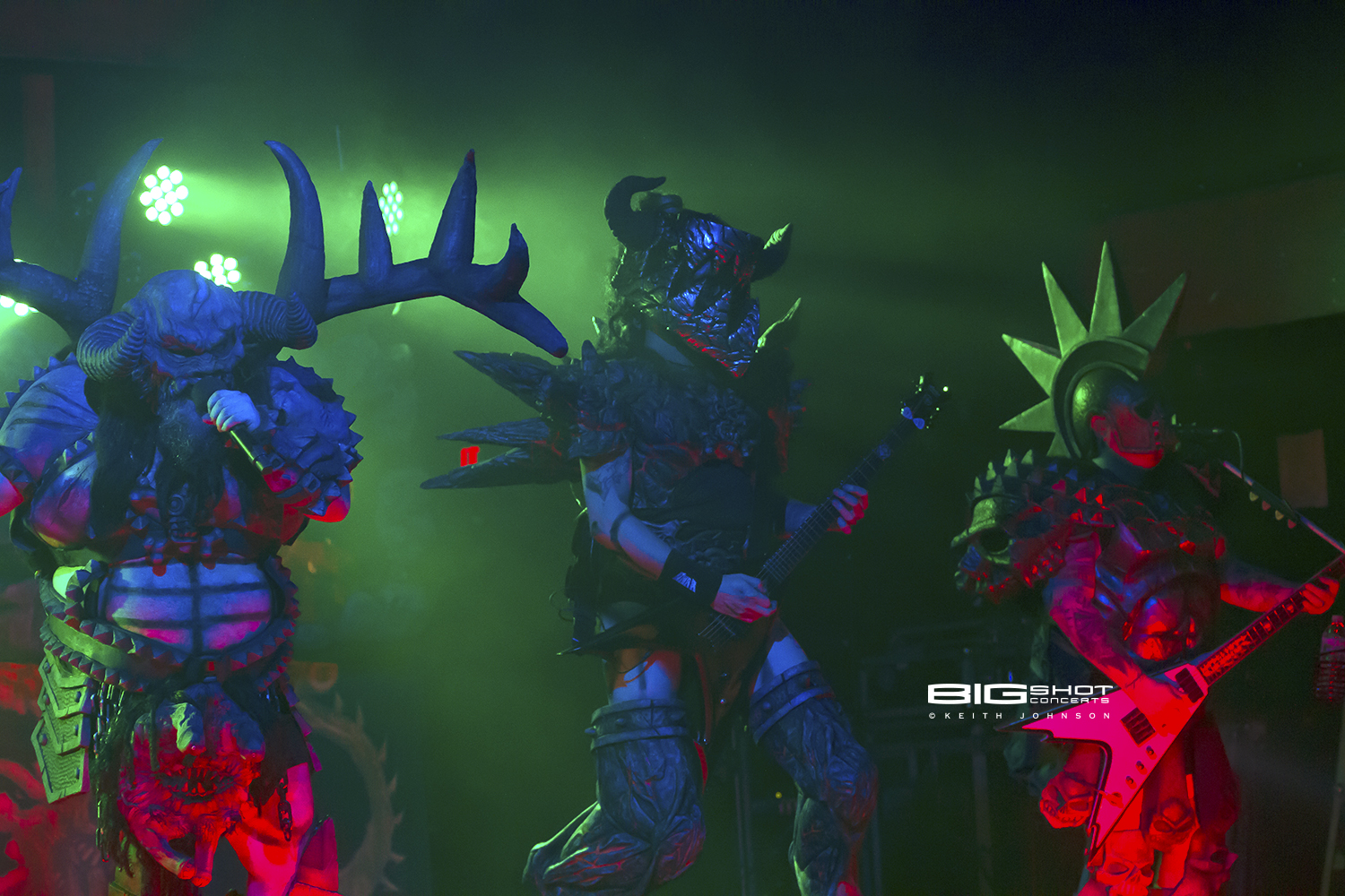 GWAR in concert at Revolution Live