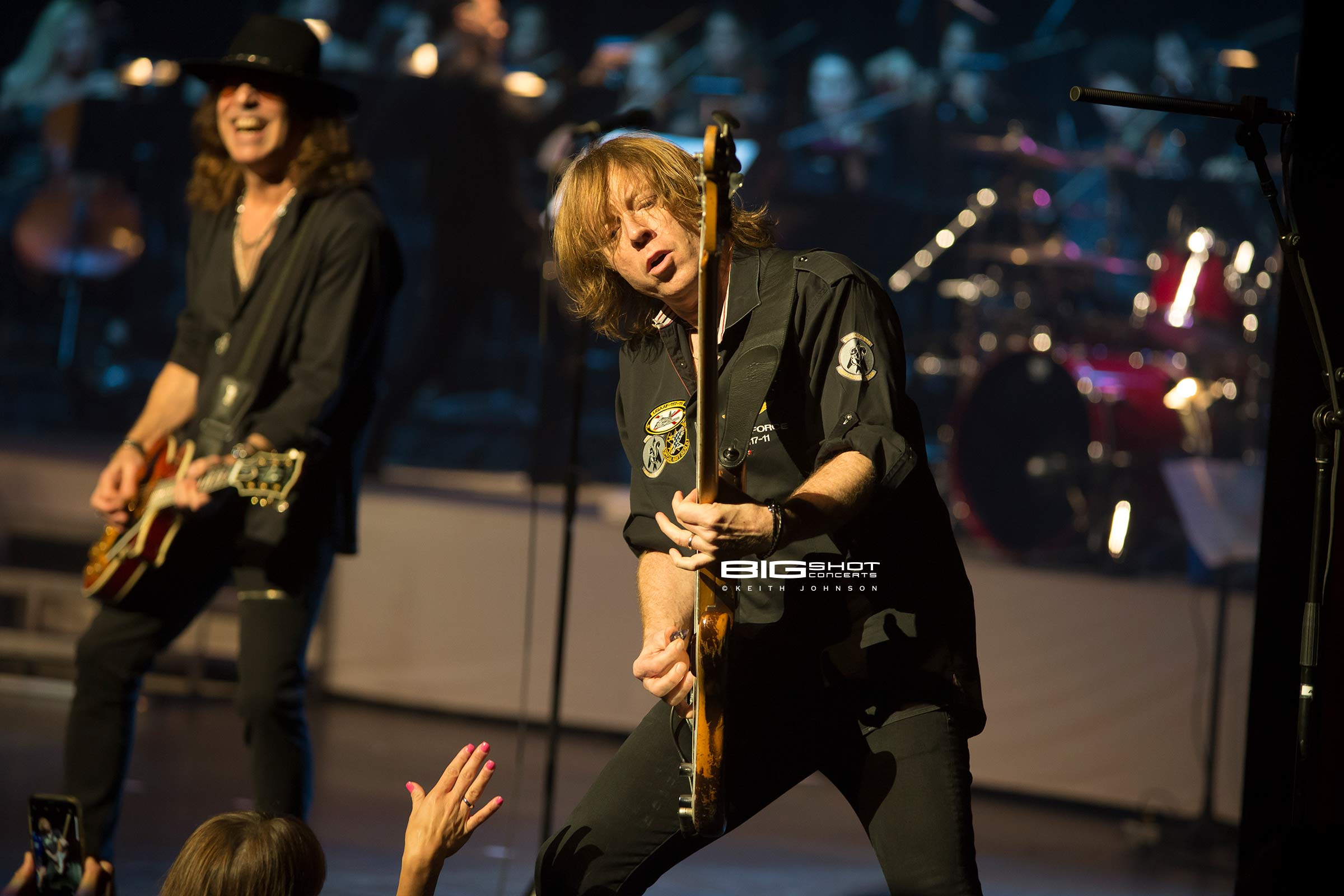 Tom Gimbel and Jeff Pilson of Foreigner