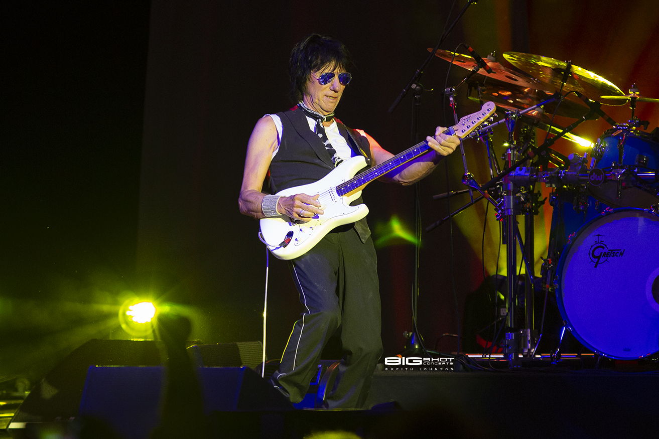 Blues Inspired Guitar Player Jeff Beck