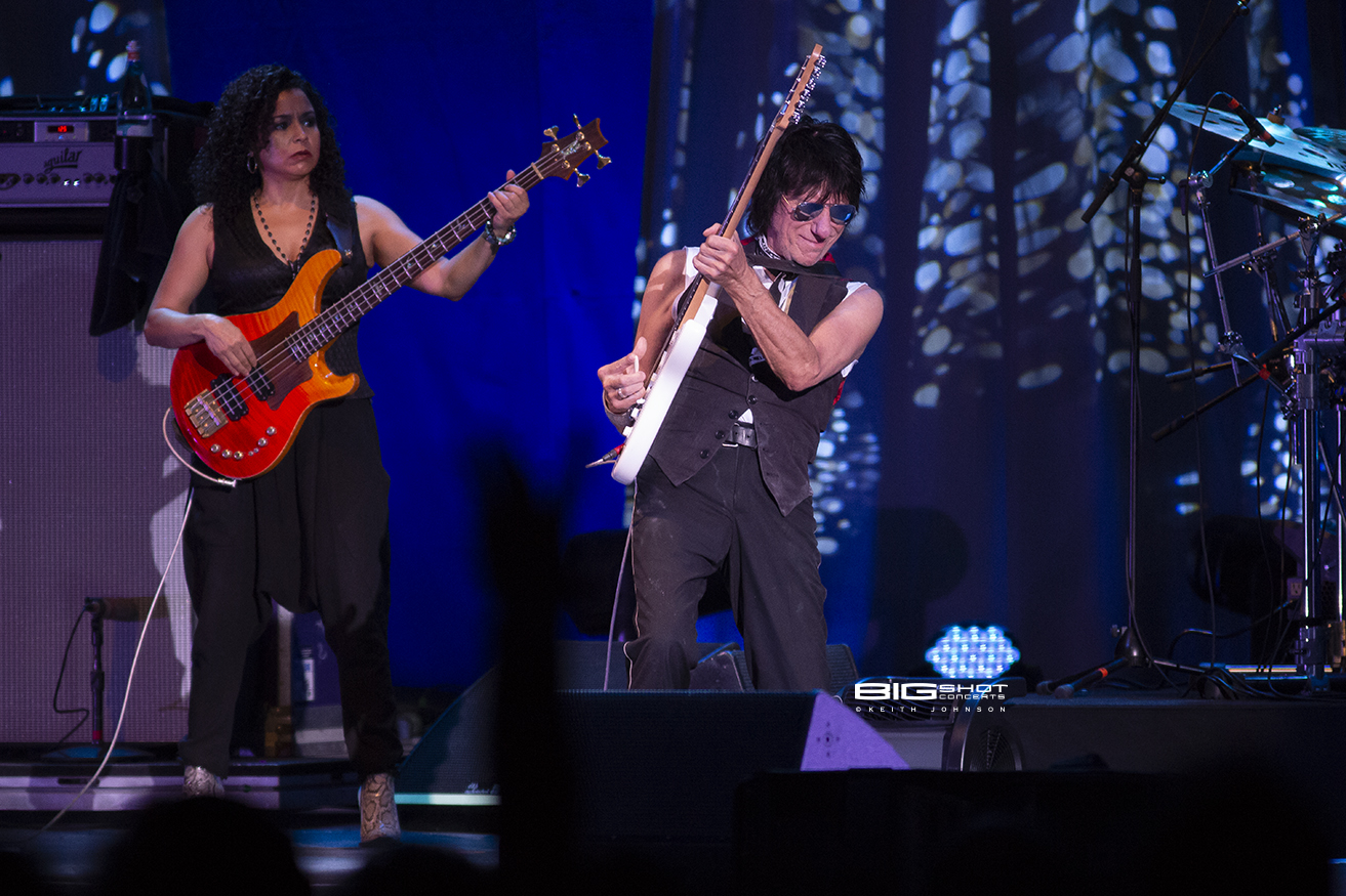 Jeff Beck Band in west Palm Beach, Florida