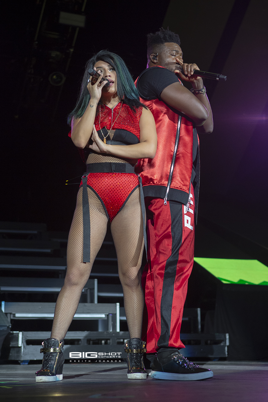 Kirstin Maldonado and Kevin Olusola of Pentatonix