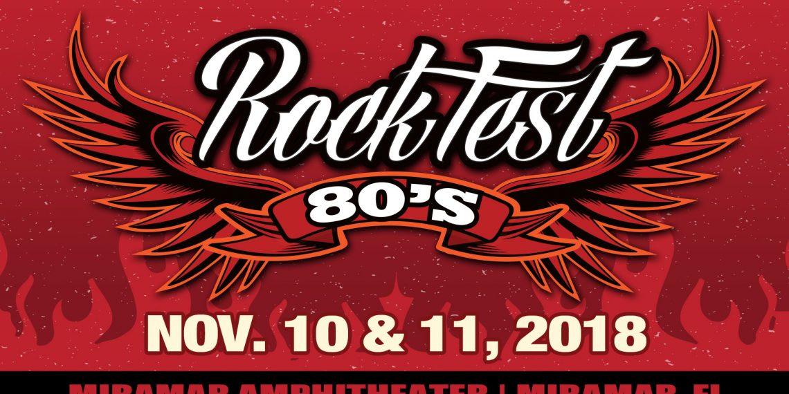 Rockfest 80's at Miramar Amphitheater