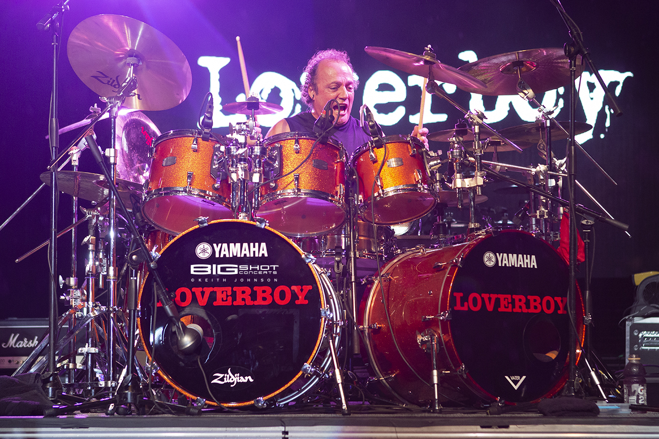 Loverboy Drummer Concert Photo