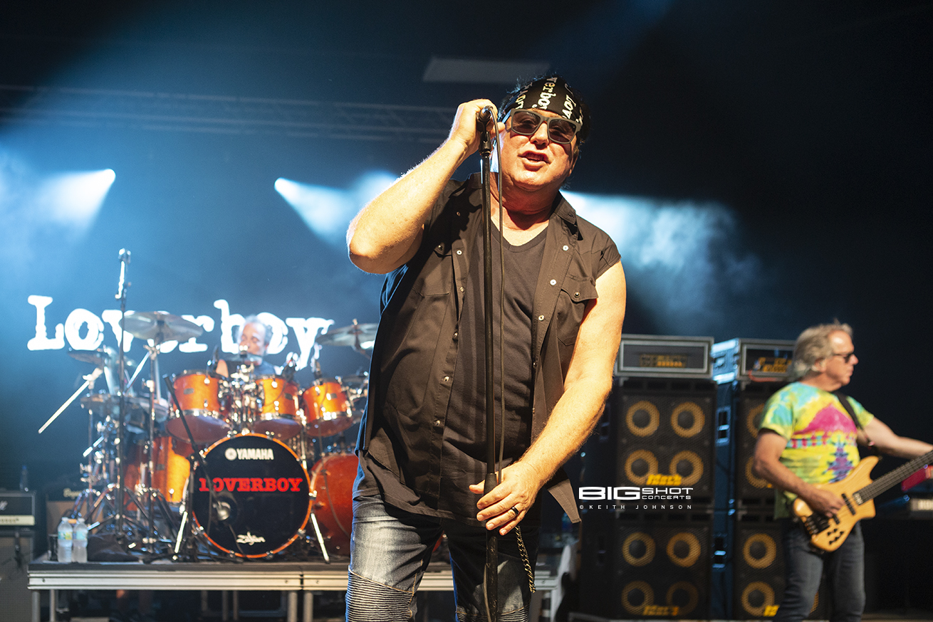 Loverboy Singer Concert Photo