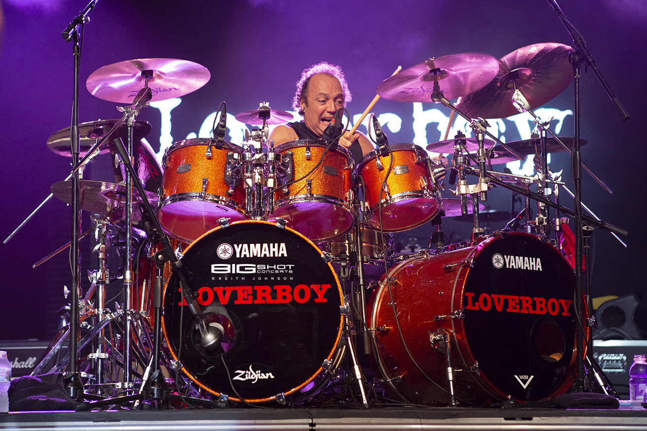 Loverboy Drummer Photo