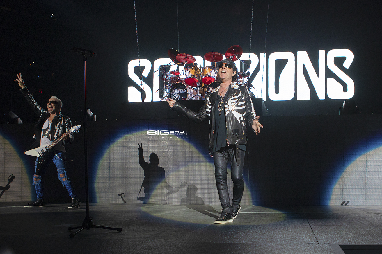 Scorpions Crazy World Tour Photo