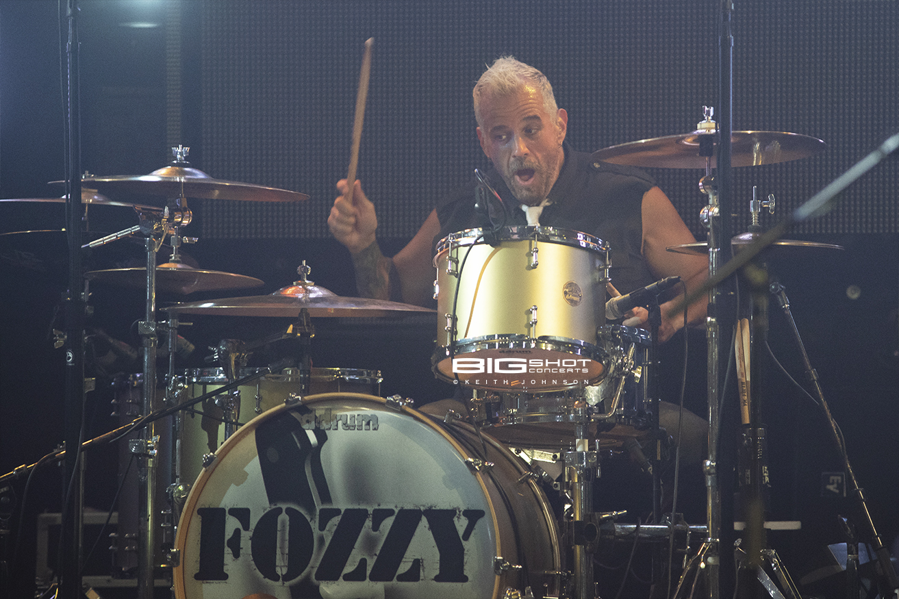 Fozzy Drummer Frank Fontsere