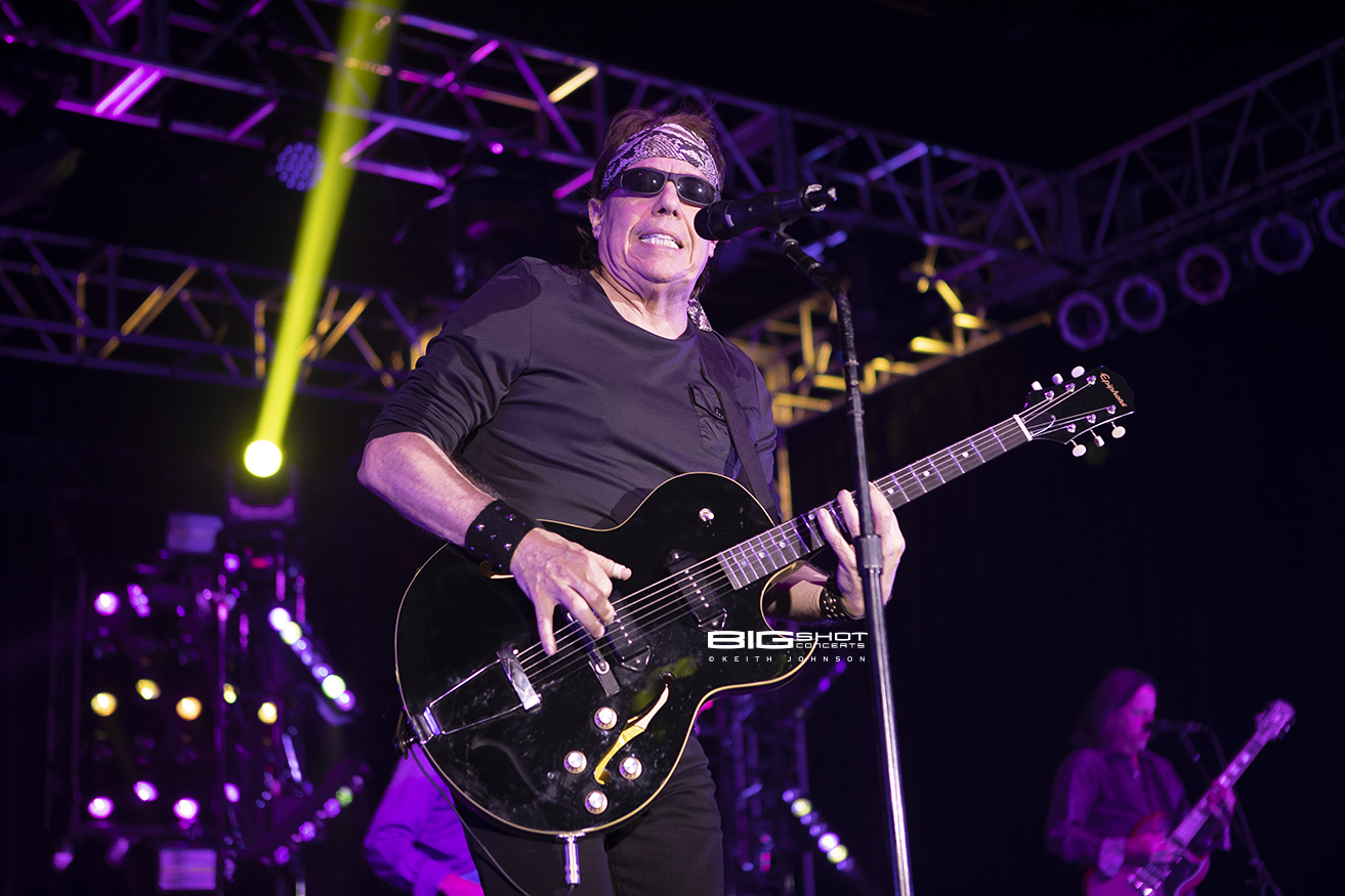 George Thorogood Playing Guitar.