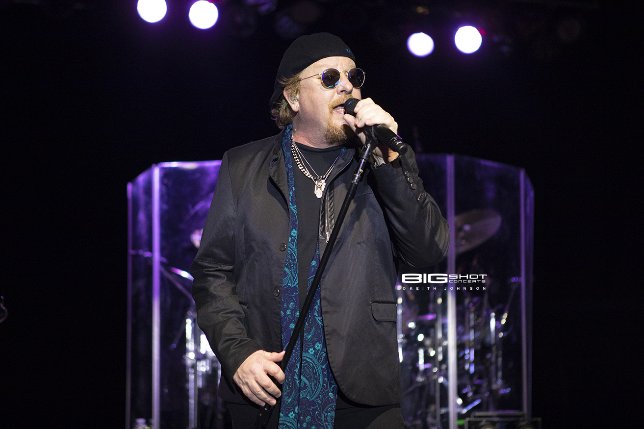 Lead Singer Joe Williams of Toto