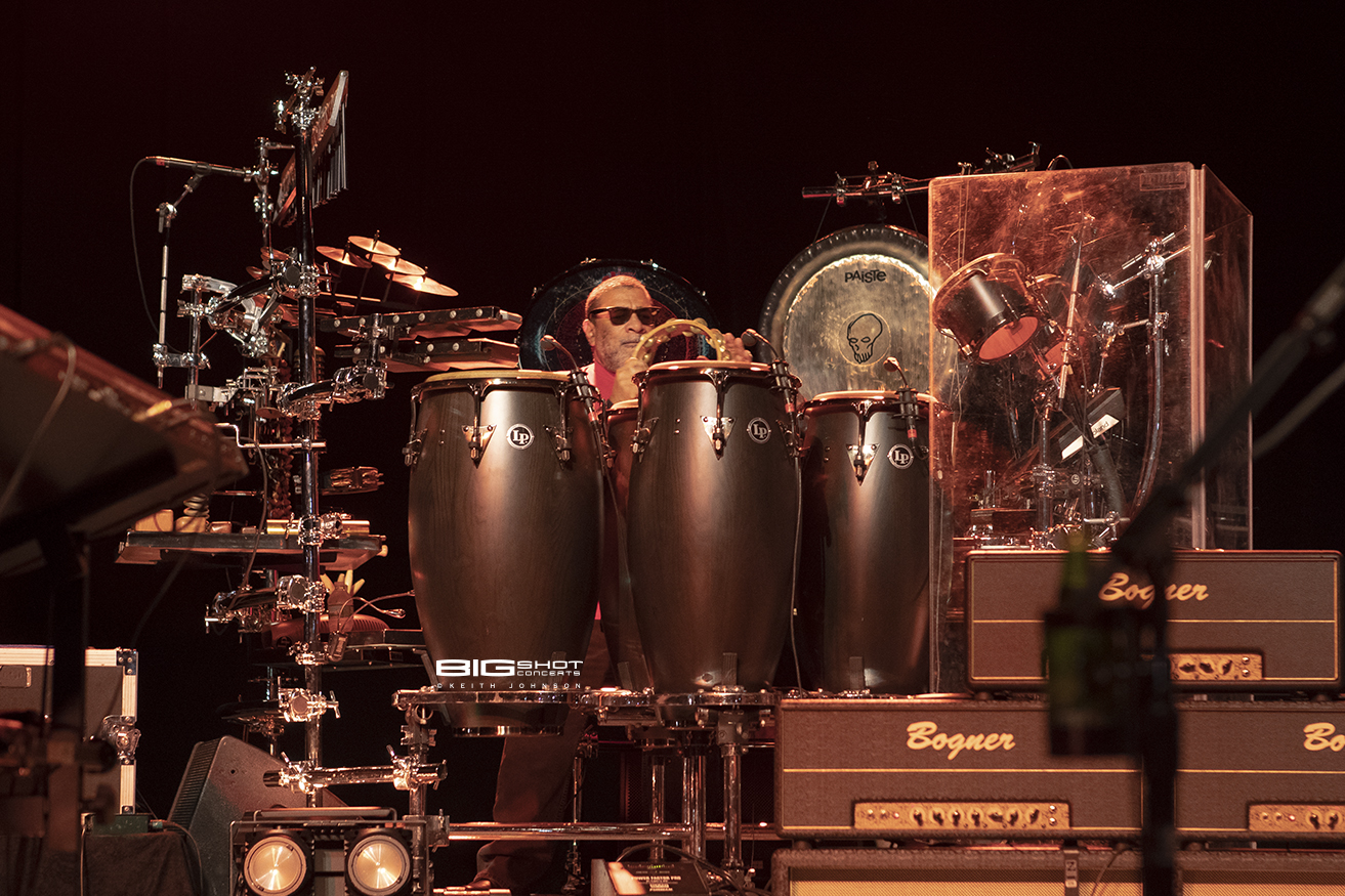 Percussionist of Rock Band Toto