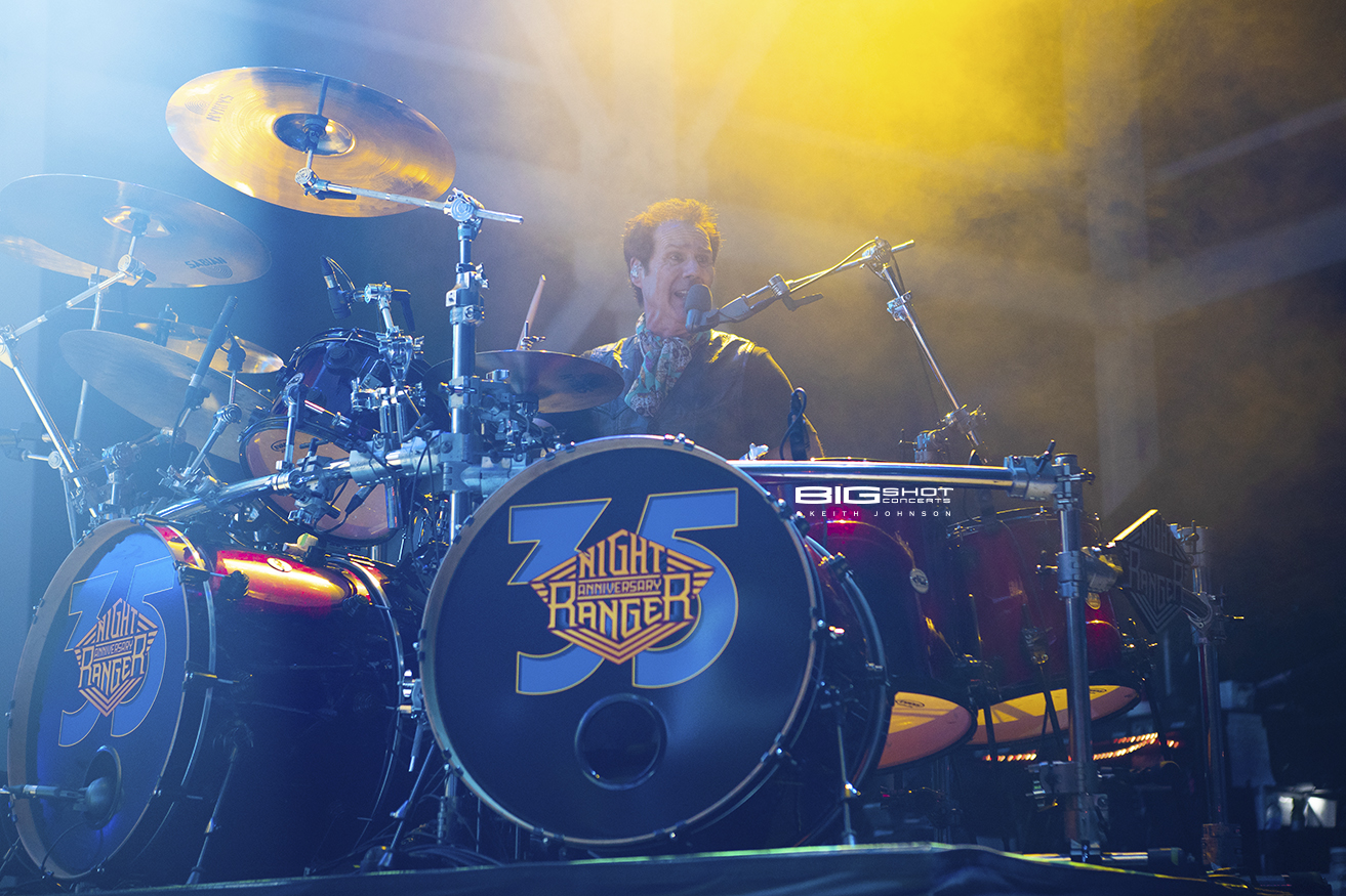 Kelly Keagy of Night Ranger