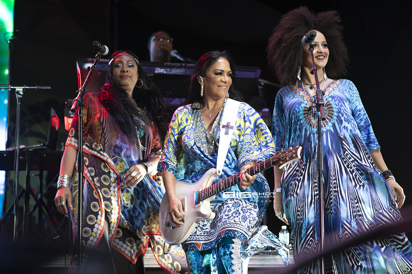 Sheila E Band Performs on Fort Lauderdale Beach