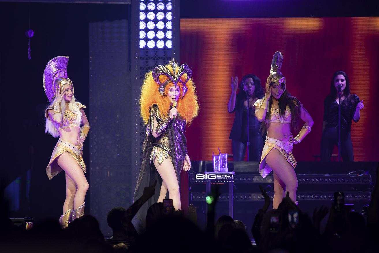 Cher Concert Photo