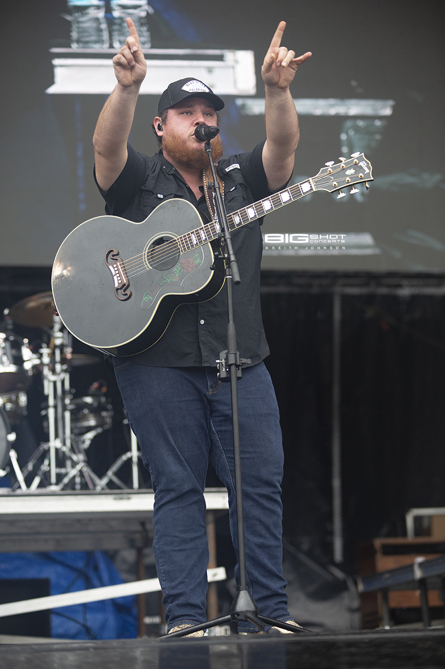 Country Music Artist Luke Combs