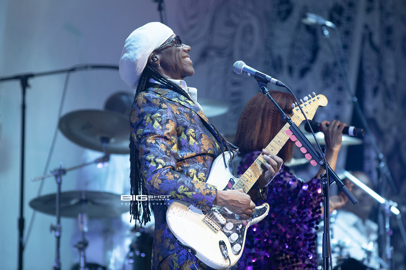 Nile Rodgers at BB&T Center in Sunrise, Florida