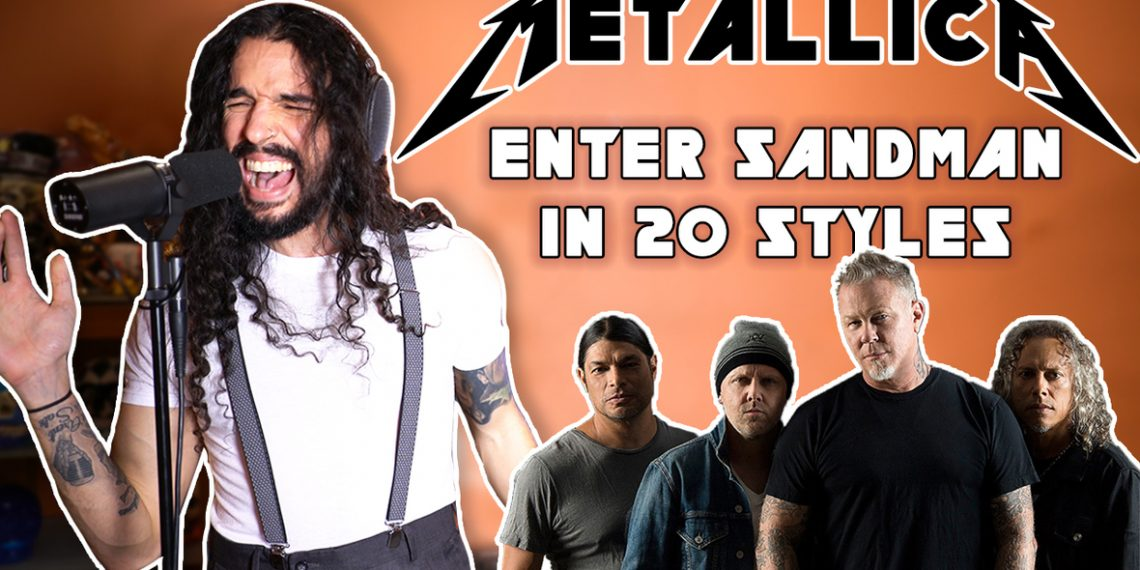 Anthony Vincent Covers Metallica' Enter Sandman