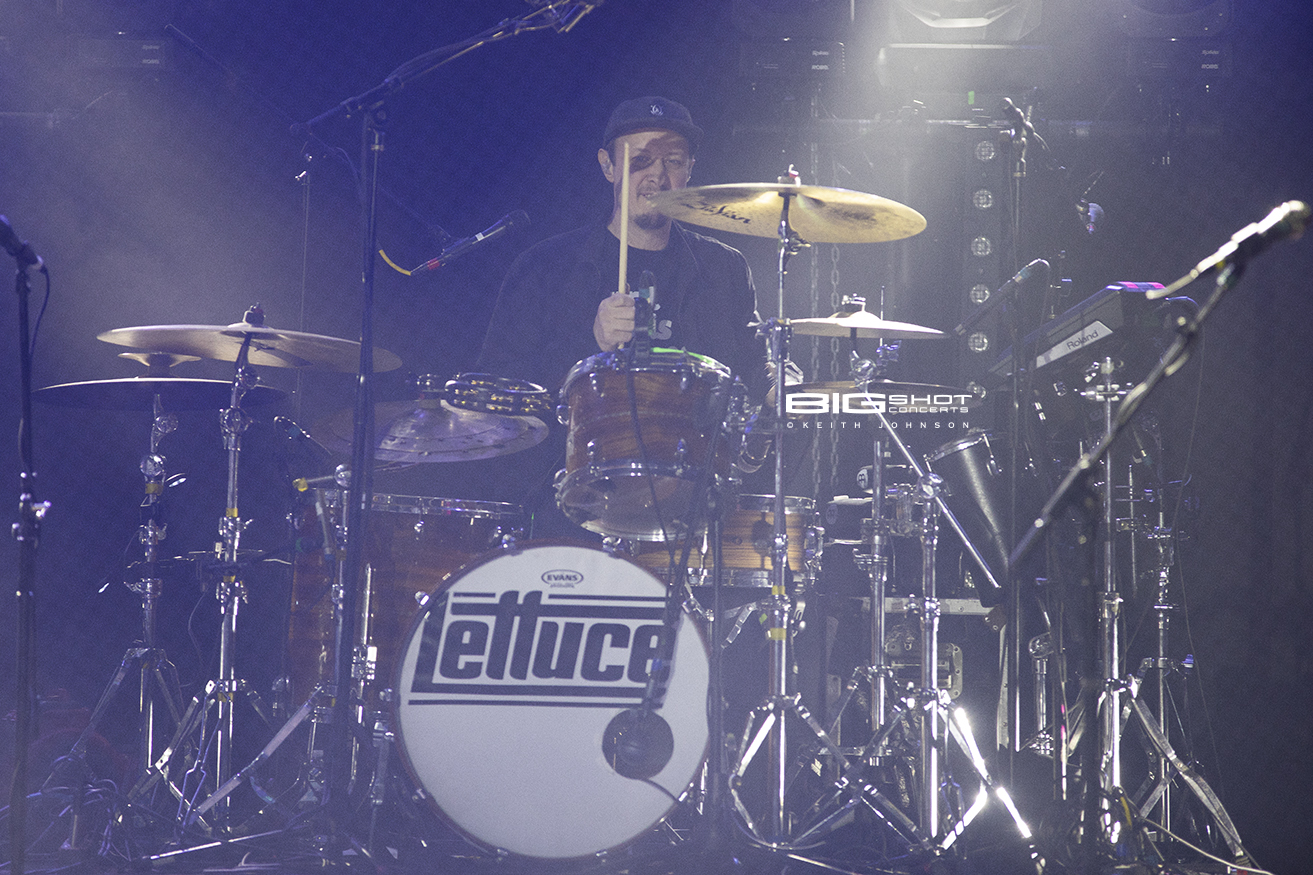 Adam Deitch Keeps the Beat During Lettuce Concert