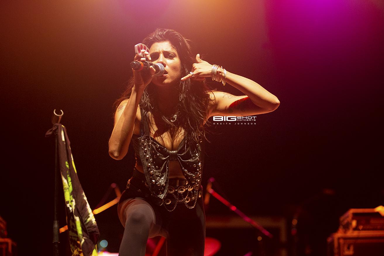 Priya Panda on Stage at Magic City Casino