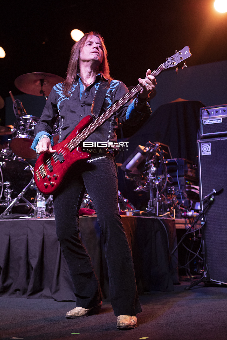 KIX Bass Player