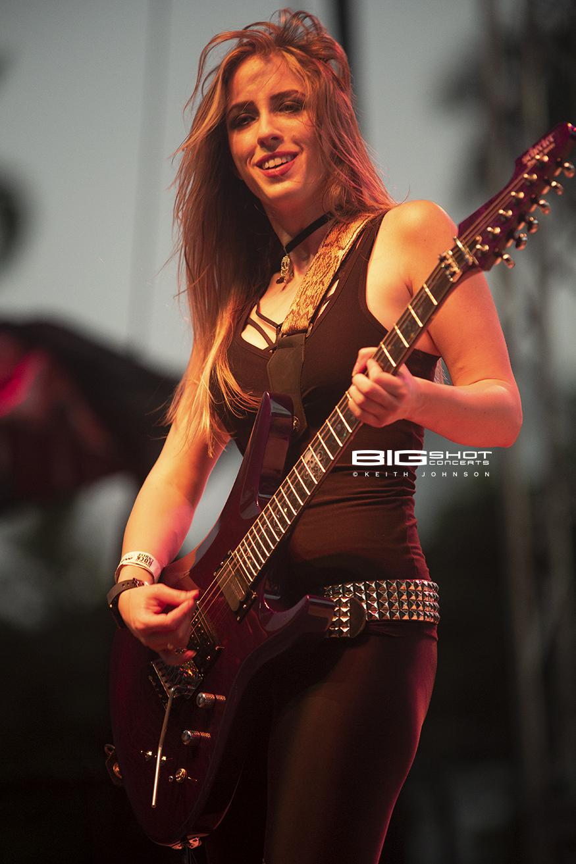 Nikki Stringfield Playing Guitar