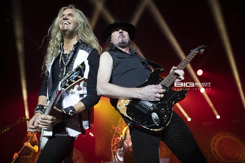 Whitesnake Flesh & Blood Tour 2019