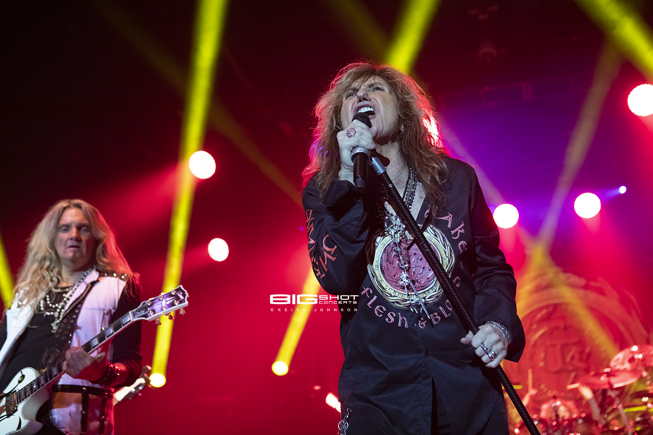 Whitesnake Flesh & Blood World Tour 2019