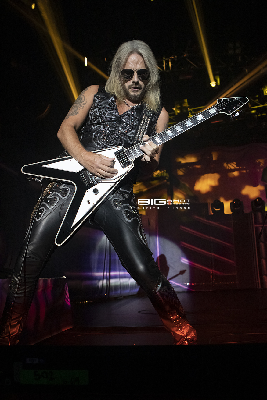 Judas Priest Lead Guitarist Richie Faulkner
