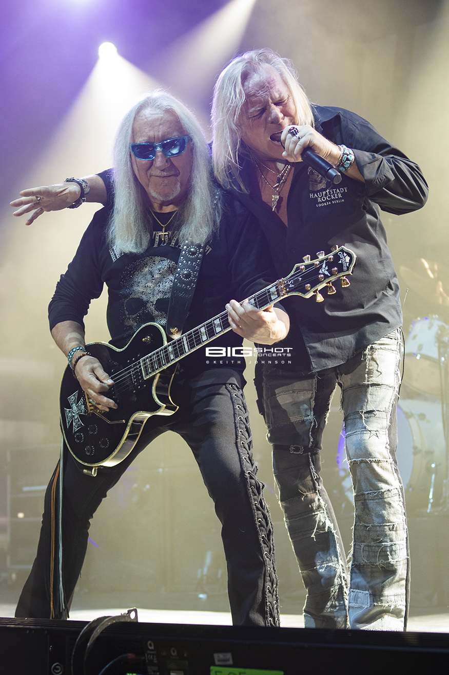 Mick Box and Bernie Shaw of Uriah Heep