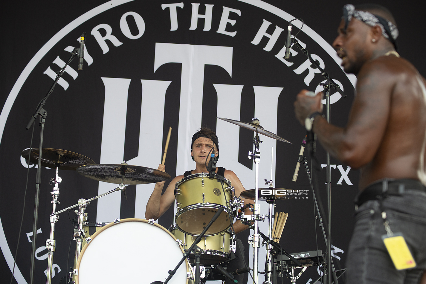 Rockstar Energy Disrupt Festival Band Hyro the Hero