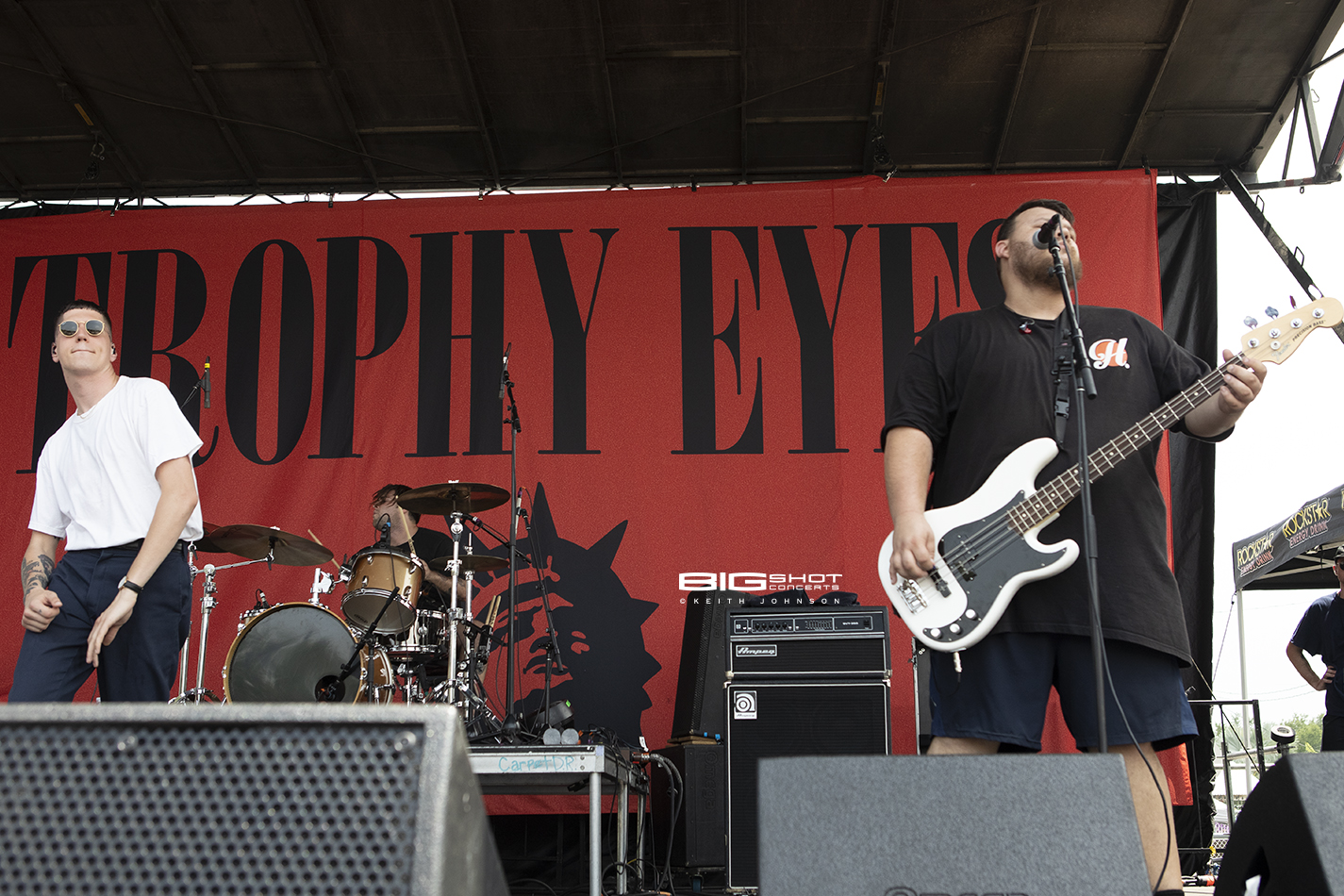 Festival Stage Band Trophy Eyes at Rockstar Energy Disrupt Festival