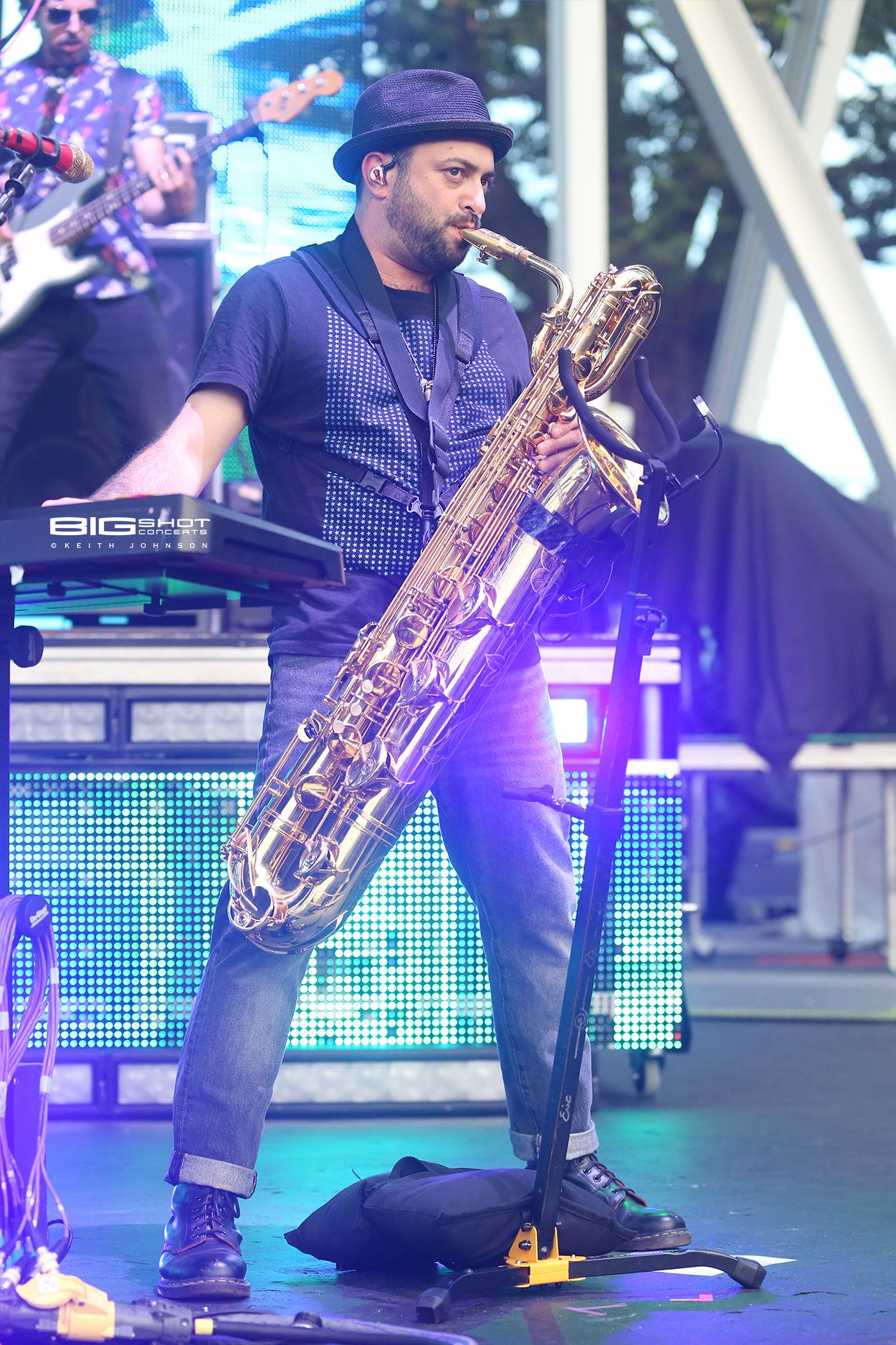 Fitz & the Tantrums Saxophone Player