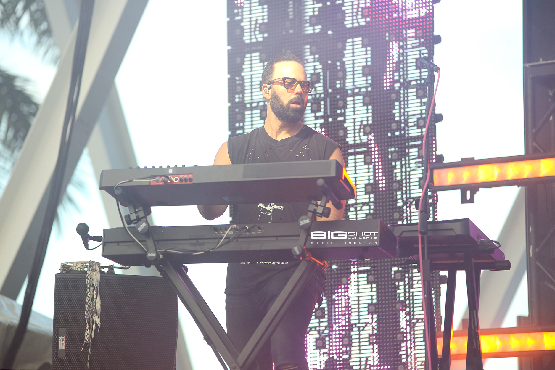 Keyboard Player of Fitz & the Tantrums