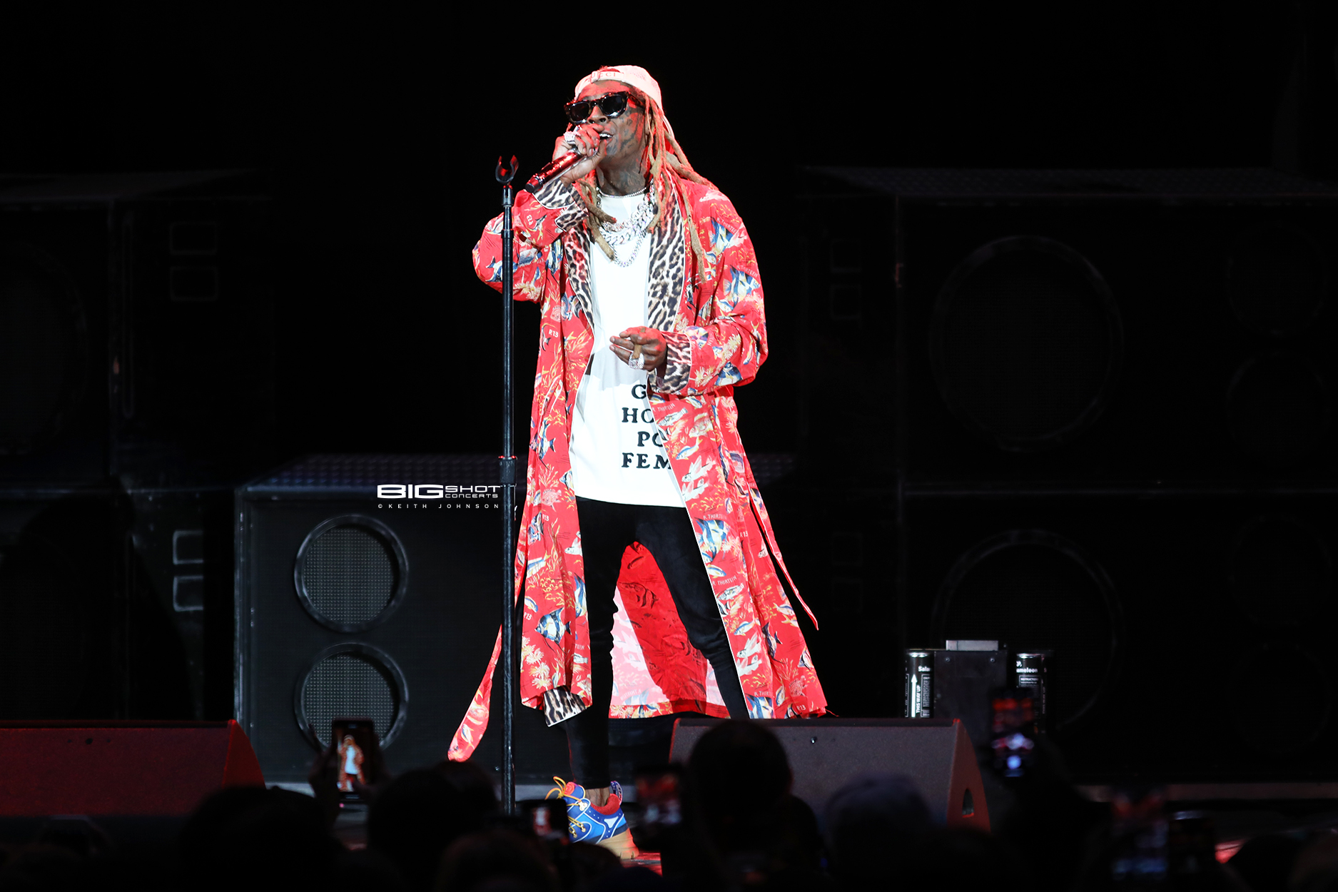 Lil Wayne on Stage in West Palm Beach, Florida