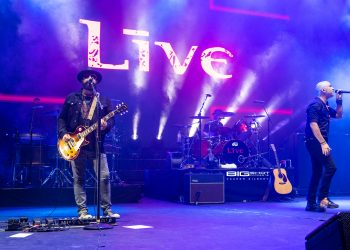 Live performs during the The ALTimate Tour at Bayfront Park Amphitheater on August 17, 2019 in Miami, Florida. Credit: Aaron Gilbert