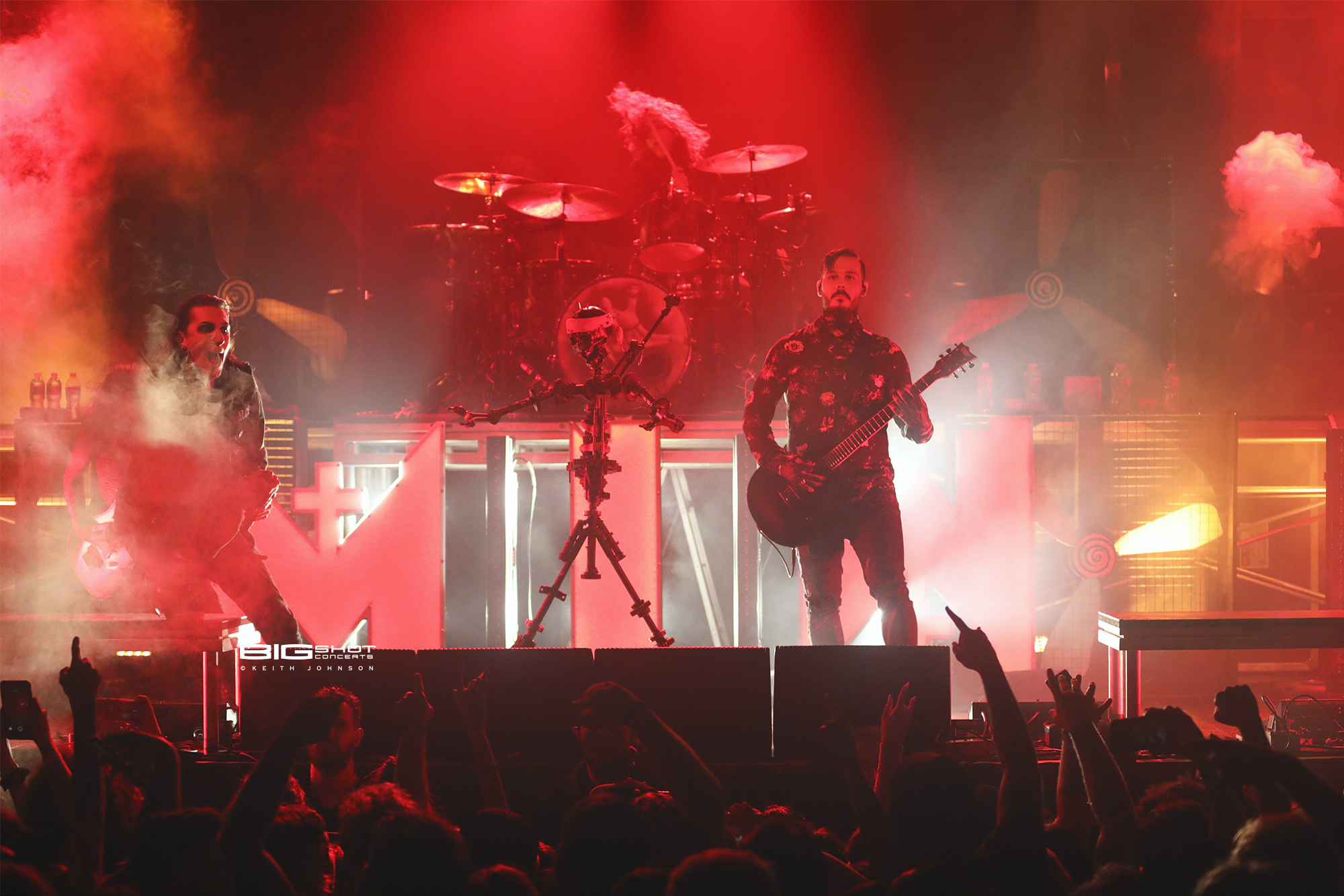 Motionless in White at Revolution Live in Ft. Lauderdale, Florida