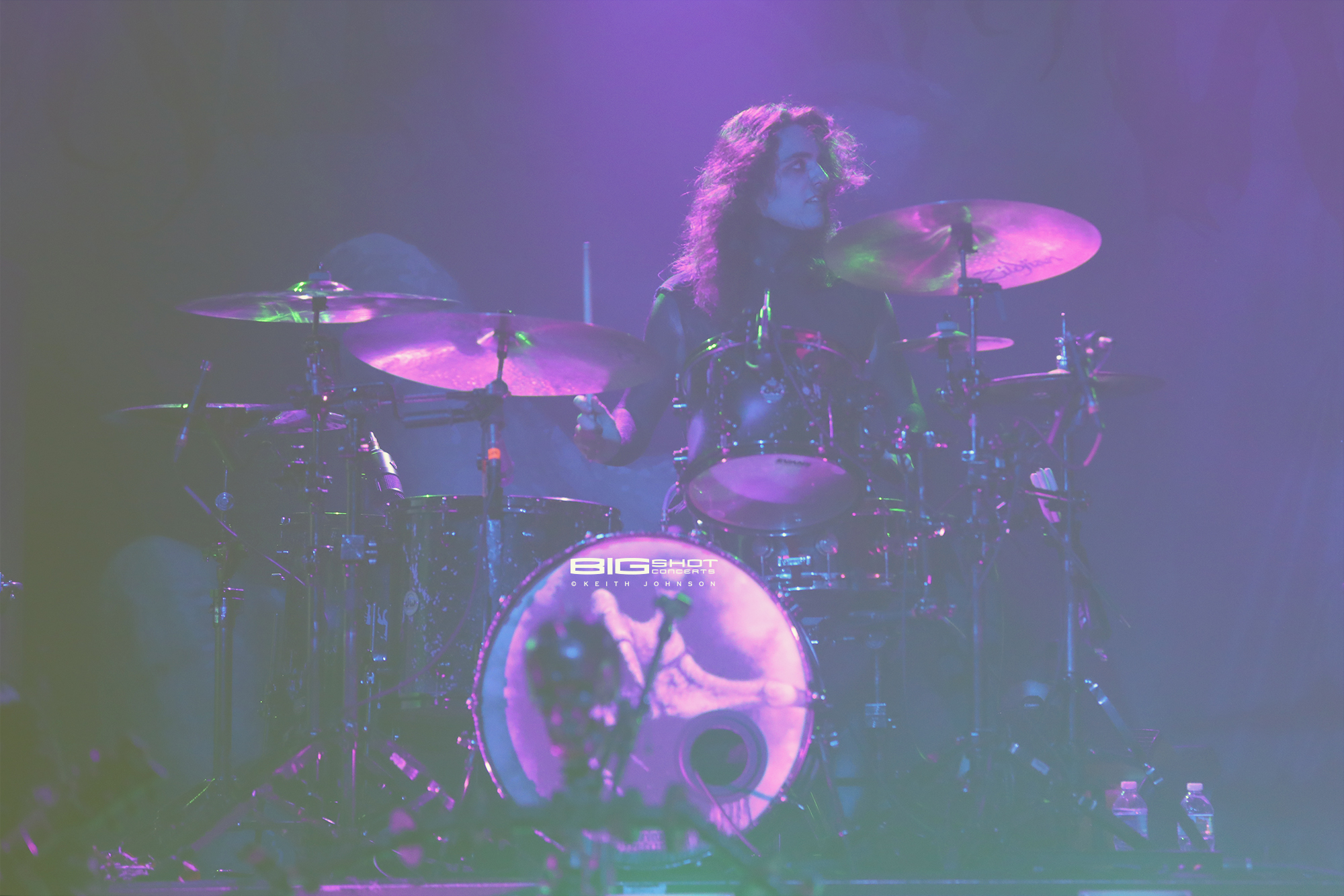 Drummer Vinny Mauro of Motionless in White