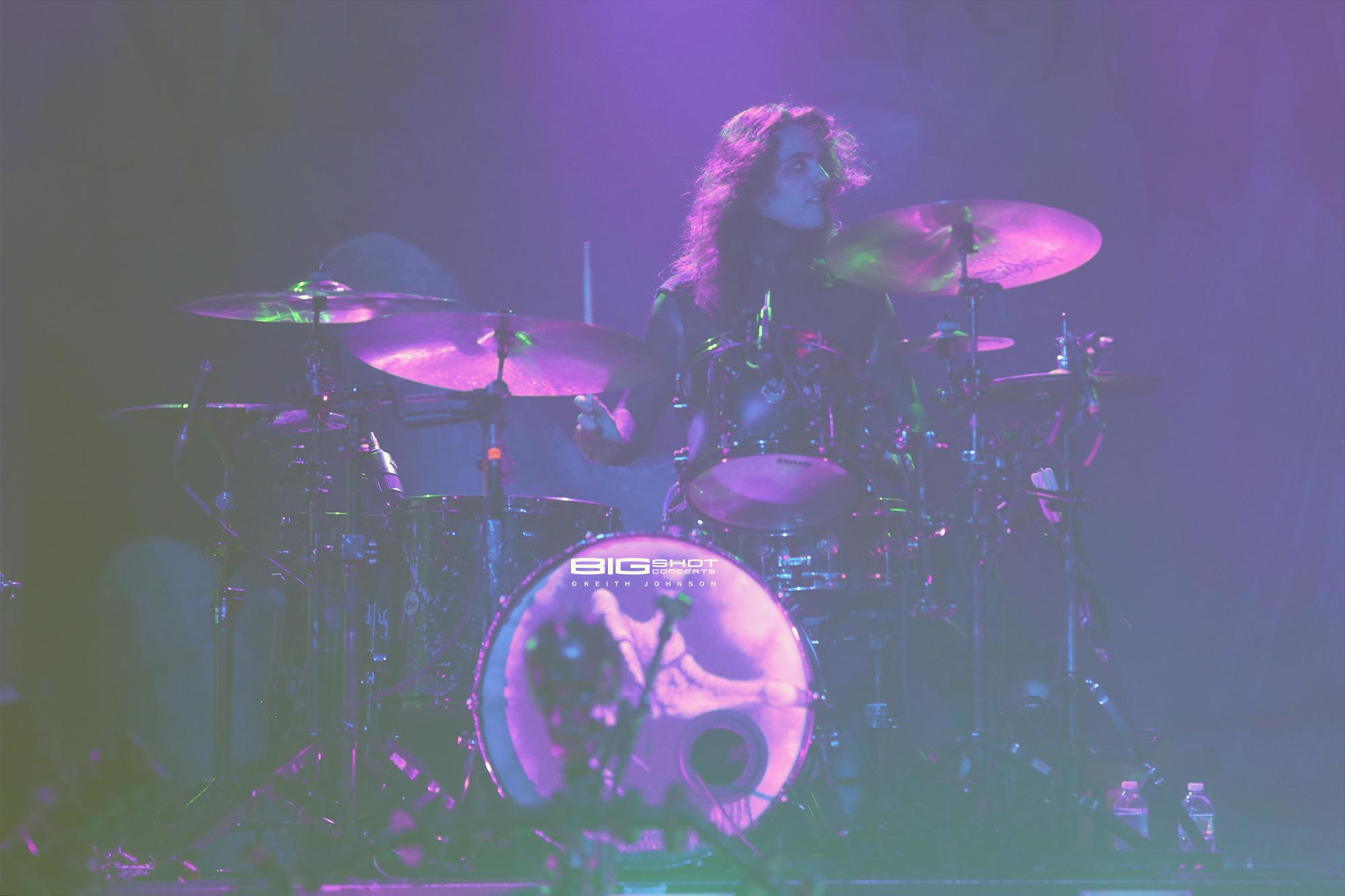 Drummer Vinny Mauro of Motionless in White