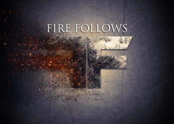 "Fire Follows Single ""Black and White"""